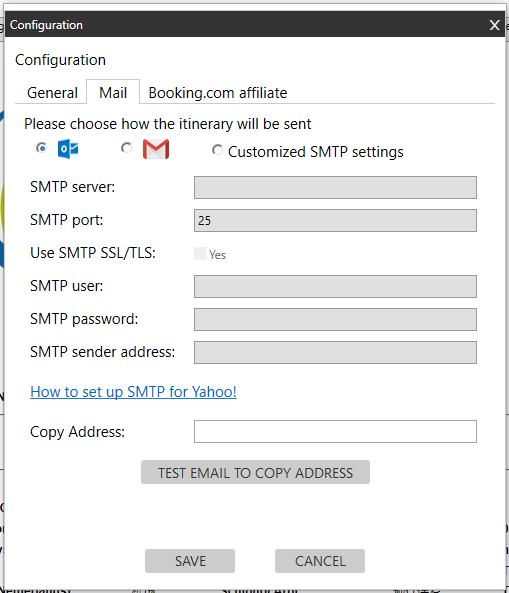 How to set up email sender? – CEE Support